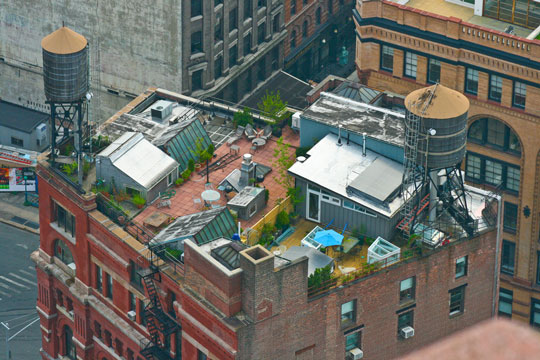 Roof Gardens Of The Rich And Famous Brooklyn Roof Garden
